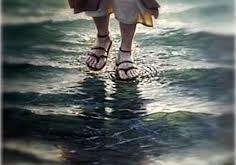 caminhar sobre as aguas