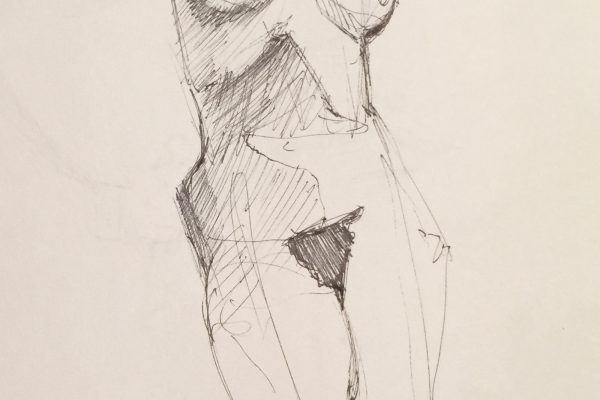 Palmer-ish nude study