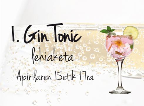 20  taberna  Gin  Tonic  lehiaketan