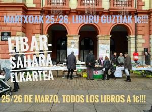 Eibar-Sahara Elkartekoen liburu azoka @ Untzagan
