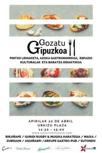 Gozatu Gipuzkoa (pintxo lehiaketa, azoka gastronomikoa, espazio kulturalak eta baratza didaktikoa) @ Urkizun