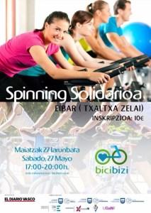 Bicibizi: Spinning Solidarioa @ Txaltxa Zelai