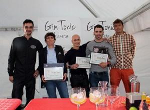 Amesti tabernako Emilio Pitak irabazi du II. Gin Tonic lehiaketa, 'Txumari' izeneko proposamenarekin