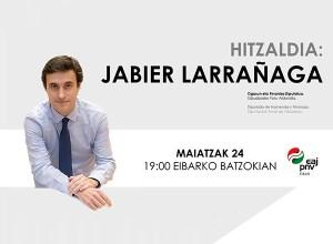 Hitzaldia: Jabier Larrañaga @ Batzokian (Ego Gain 1-1