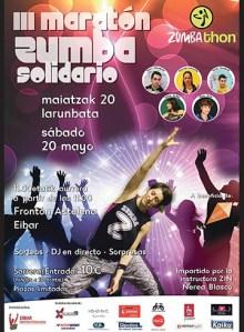 III. Zumba Maratoi Solidarioa @ Astelena frontoian