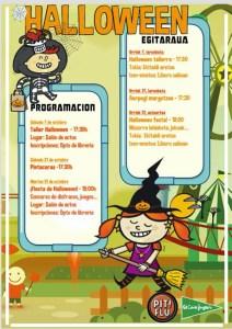 Halloween @ El Corte Inglesean (ekitaldi aretoan)