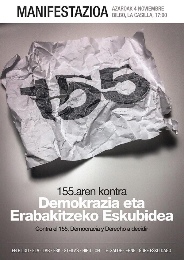 155 kontra manifestazio