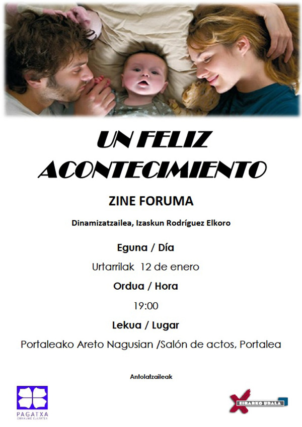 """Zine  Foruma:  """"Un  feliz  acontecimiento"""""""