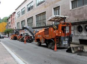 Calbeton eta Bidebarrieta trafikoarentzat itxiko dituzte gaur gauean, asfaltatze-lanak egiteko