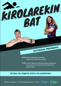 Kirolarekin bat @ El Corte Inglesean (2. solairuan)