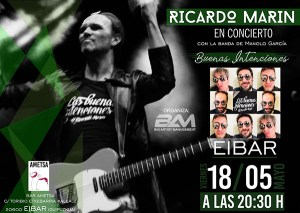 """Kontzertua: Ricardo Marin """"Las buenas intenciones"""" @ Ametsa tabernan"""