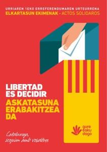 """Kontzentrazioa: """"Askatasuna erabakitzea da"""" @ Untzagan"""