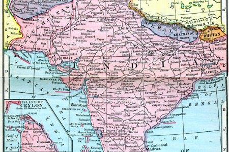 india, nepal, bhutan, afghanistan, and baluchistan