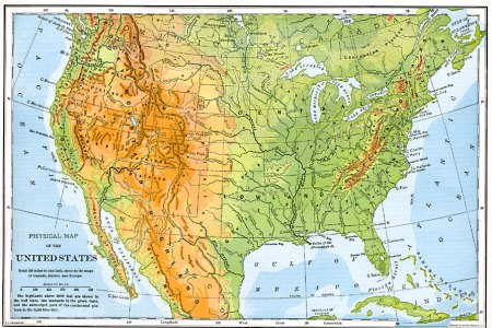 elevation map united states related keywords & suggestions