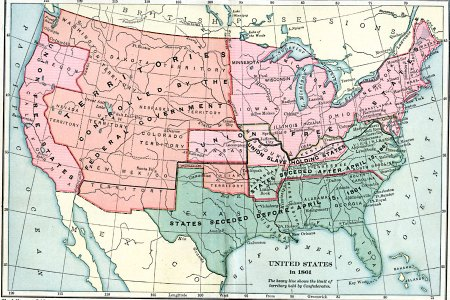 united states at the outbreak of the civil war