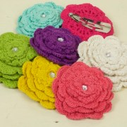 Crocheted Hairclip