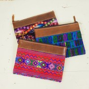 Guatemala Vintage Embroidery Clutch