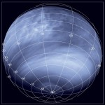 Vênus observado sob a ótica do ultravioleta e do infravermelho