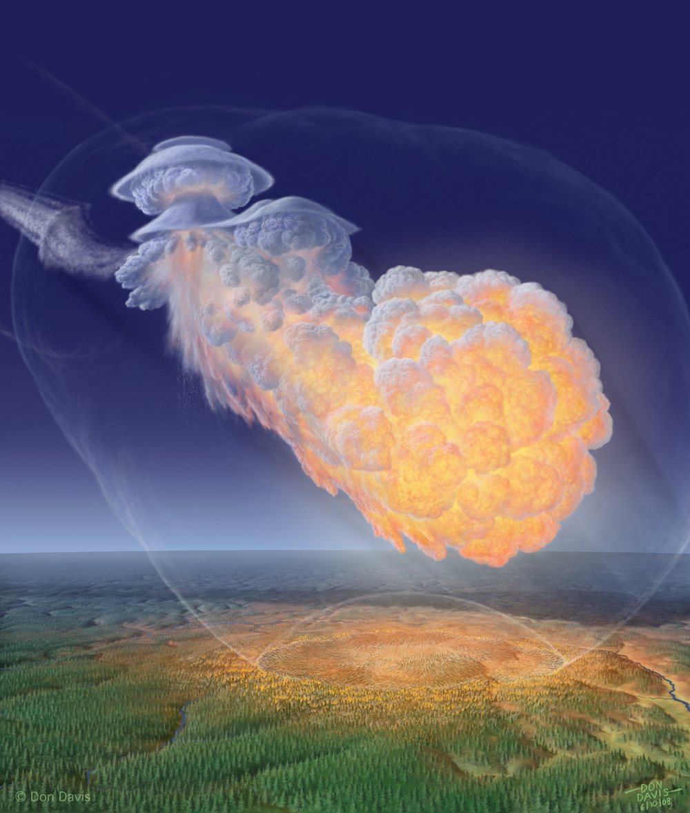 Tunguska: o mistério foi finalmente resolvido? Um fragmento de cometa explodiu como uma bomba?