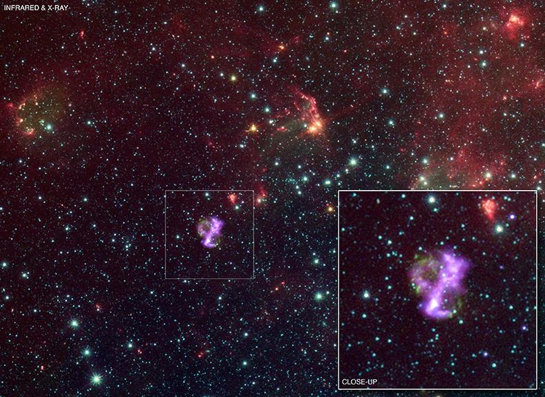 Remanescente de supernova SNR 0104
