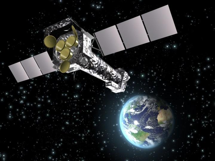 XMM-Newton, observatório espacial da ESA. Crédito: ESA (Image by C. Carreau)