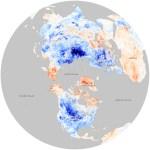 Como se comporta a anomalia climática no Hemisfério Norte em dezembro de 2009 e janeiro de 2010?