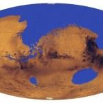 Mais de um-terço de Marte foi coberto por oceanos?
