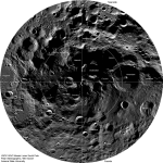 A sonda LRO revela imagens com detalhes inéditos do Polo Sul lunar