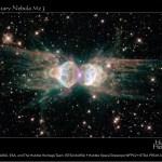 Mz3: a Nebulosa da Formiga revelada pelo Hubble
