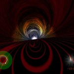 Como seria cair num buraco negro?