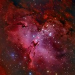 Adam Block apresenta as paisagens cósmicas M16 e a Nebulosa da Águia