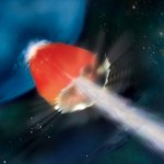 Explosão de raios gama distante revela possíveis segredos das primeiras estrelas