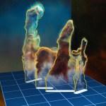ESO: MUSE revela os Pilares da Criação em 3D