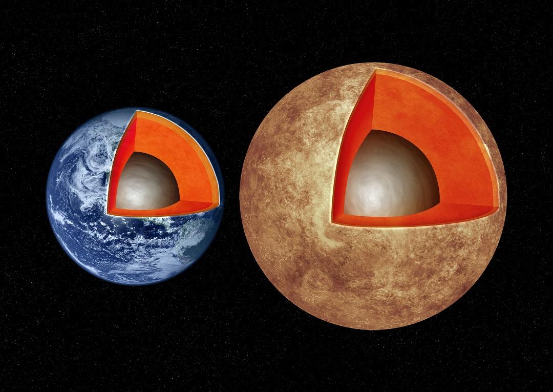 Exoplanetas tipo Terra têm interiores similares ao da Terra?
