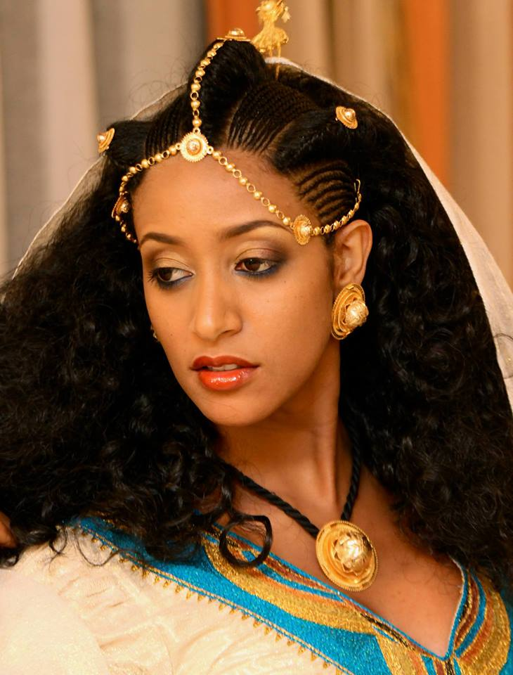 Elegant Ethiopian Traditional Dress  Ethiopian Clothing