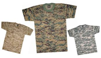American Camoflage T-shirts