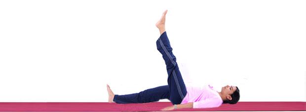 Ekapada Uttanasana yoga
