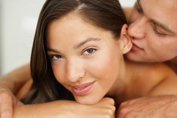 kissing behind ears