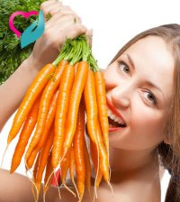 Eating carrot