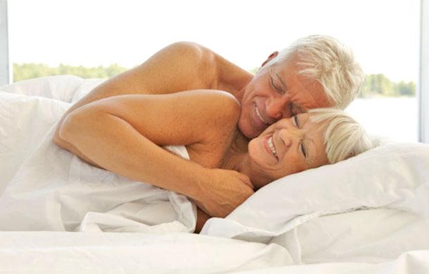 elder in bed