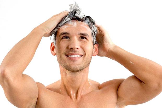 main using mild shampoo