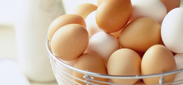 eggs in a tumbler