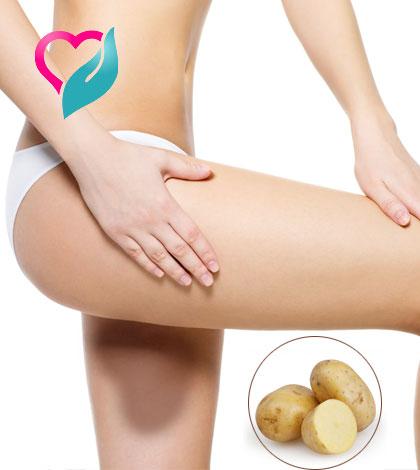 potato for inner thighs