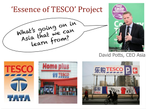 essence of tesco