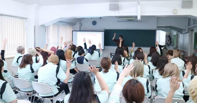 5/11(木)住田美容専門学校にて3回目の撮影講座を開催しました。