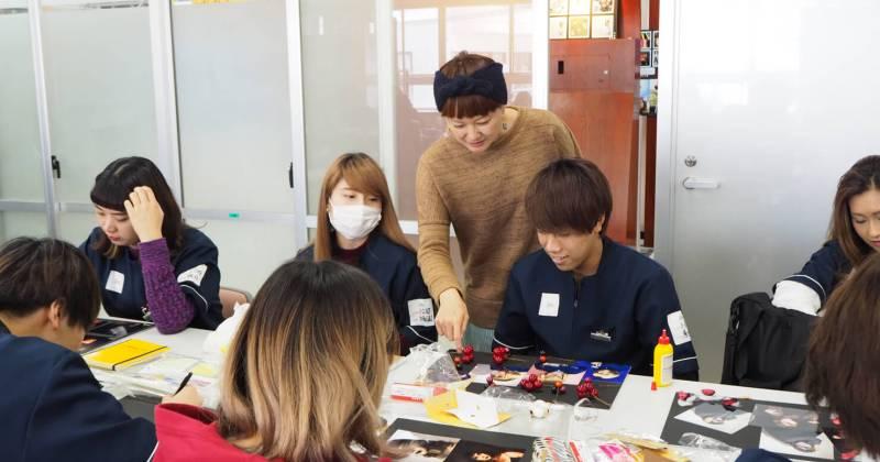 10/18(木)住田美容専門学校にて撮影講座を開催しました。
