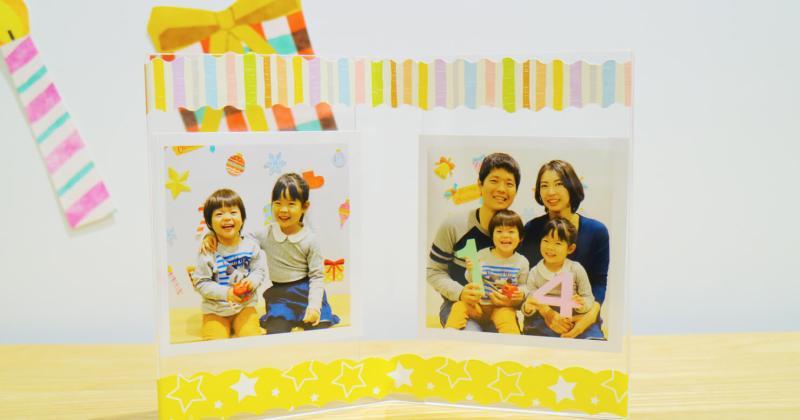 12/1(土)無印良品 ららぽーと海老名 子ども撮影&プリントワークショップ クリスマス特別企画「子どもの写真でフォトフレームをつくろう!」を開催しました。