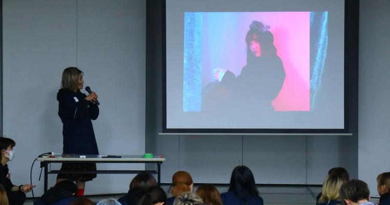 12/6(木)住田美容専門学校にて撮影講座を開催しました。