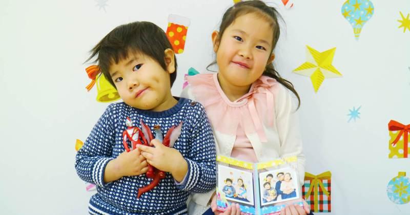 12/16(日)無印良品 丸井吉祥寺 子ども撮影&プリントワークショップ クリスマス特別企画「子どもの写真でフォトフレームをつくろう!」を開催しました。
