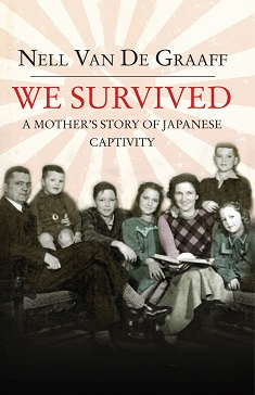 We Survived, Author Nell van de Graaff